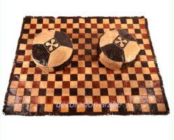 alfombra africana étnica