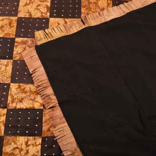detalle alfombra cuero tuaregs