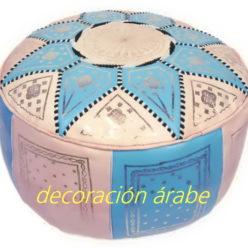 puff árabe celeste
