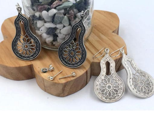 pendientes estilo árabe