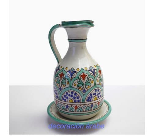 aceitera cerámica andaluza árabe