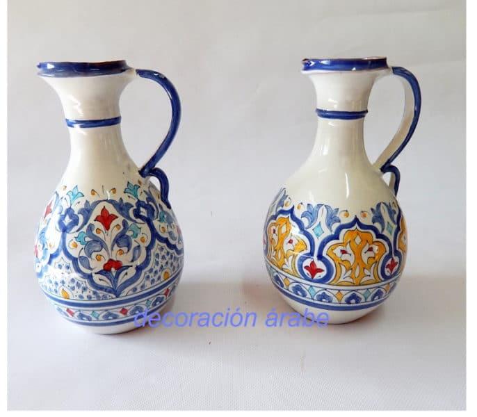 cerámica andaluza árabe aceitera