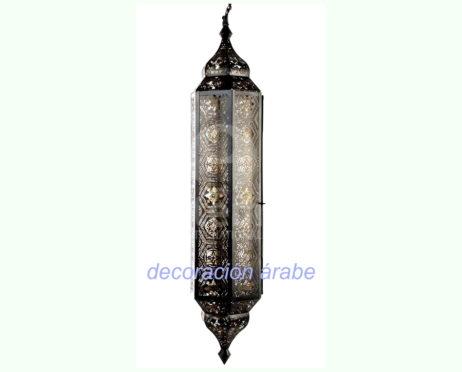 lámpara india árabe