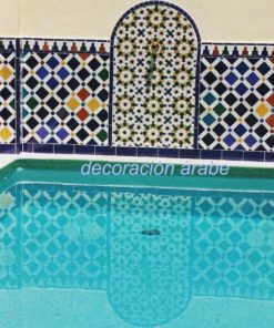 Mosaicos nazaris Arrayanes alhambra