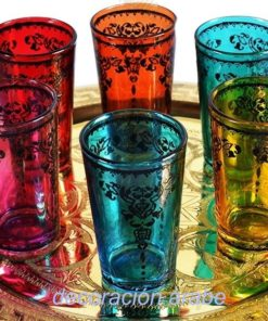 vasos té árabes