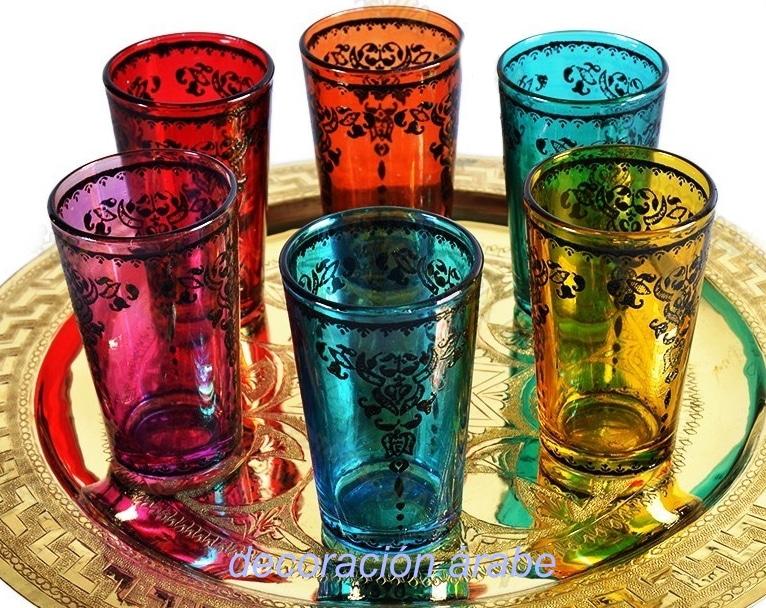 Sos marroqu es para el t filigrana for Vasos de te