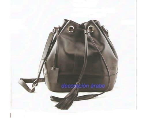 bolso cuero mochila
