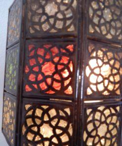 lámpara marroquí detalle