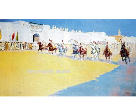 Marruecos, Bertuchi , reproduccion