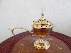 incensario pebetro bronce