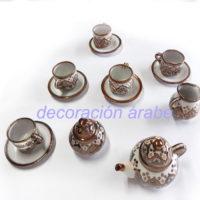uego té cerámica andaluza árabe