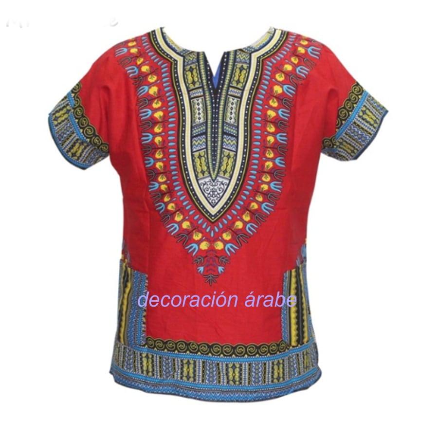camisa africana batik