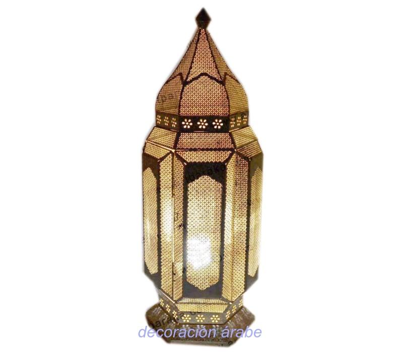 lámpara estilo India