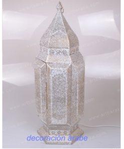 lámpara hindú mesa