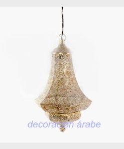 lámpara estilo hindú colonial
