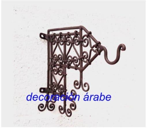 colgante forja marroquí