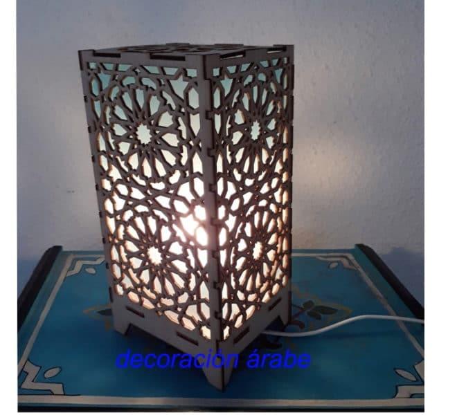 lámpara Alhambra celosía