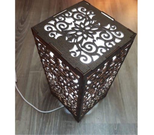 lámpara árabe mesa oriental