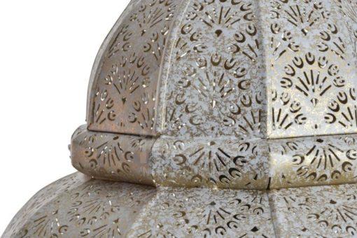detalle lámpara india