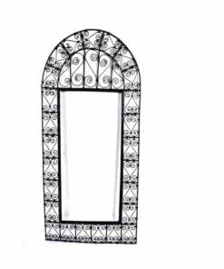 espejo árabe forja rectangular