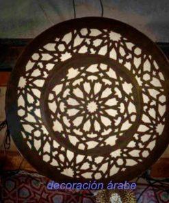 Lampara árabe alhambra detalle