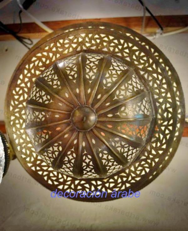 lámpara árabe colgante