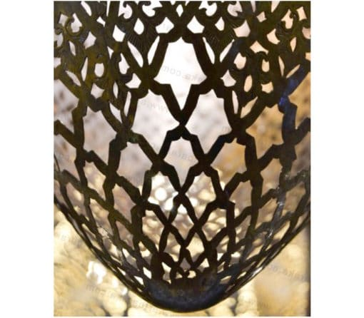 lámpara bronce detalle