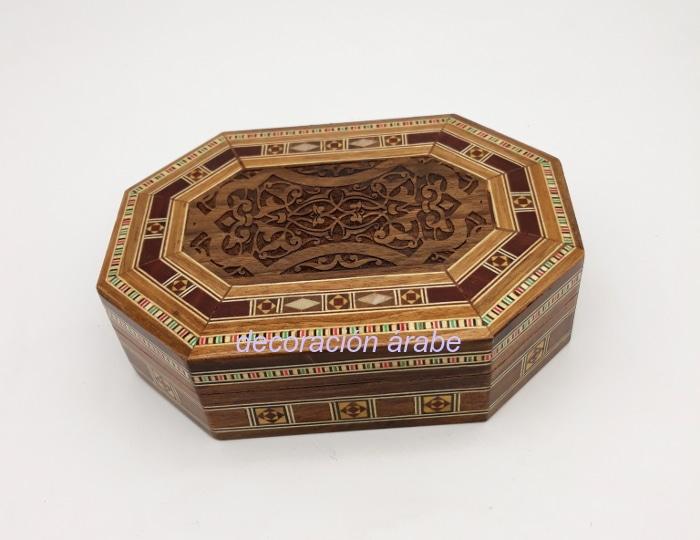 caja taracea octogonal 1