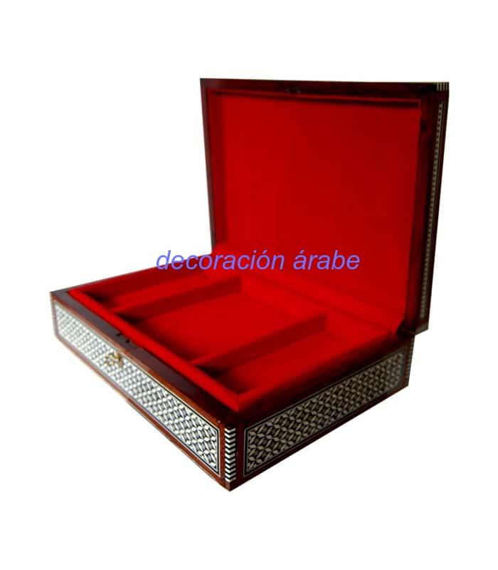 caja taracea artesanal