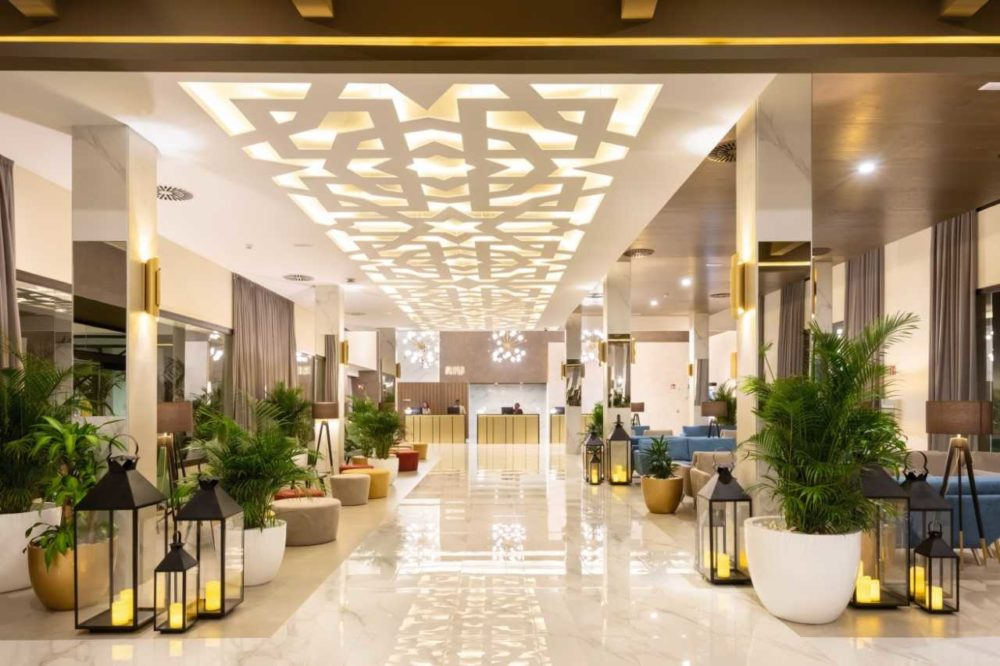 hotel decoración árabe hotel