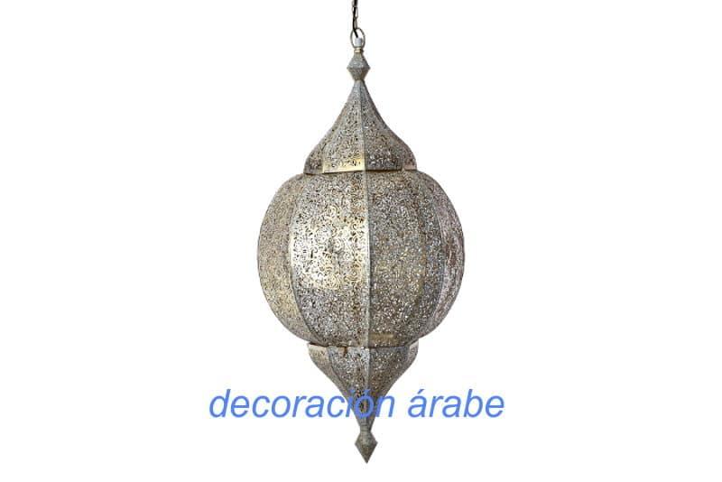 lámpara india techo Rajastán