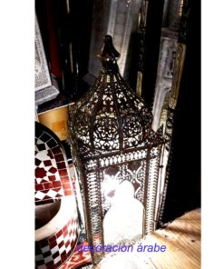 lámpara de india mesa jardín