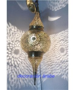 gran lampara árabe techo