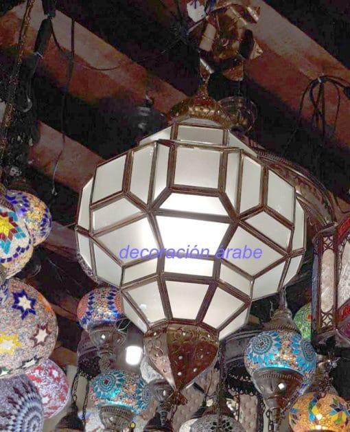 lámpara andaluza árabe