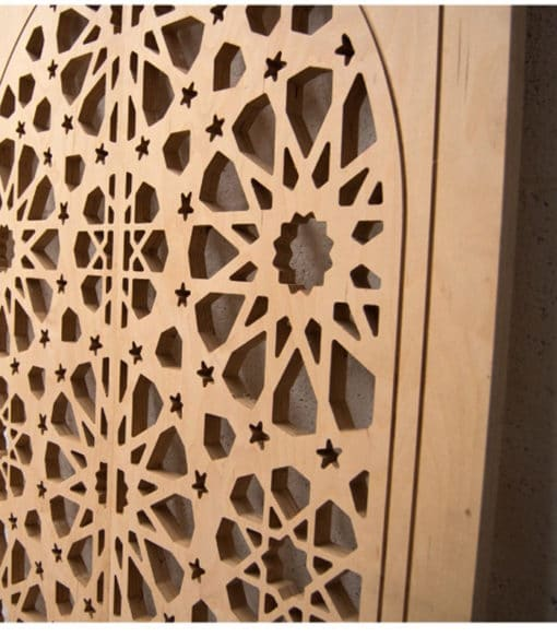 puerta celosía madera alhambra