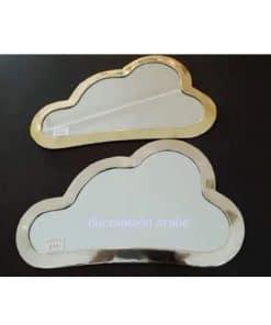 espejos árabe Nube latón y alpaca