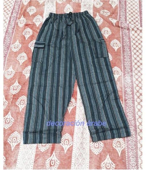 pantalones árabes algodón