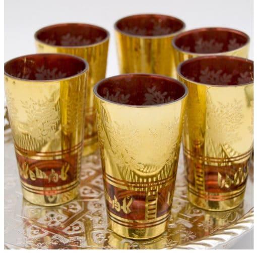 vasos árabes té