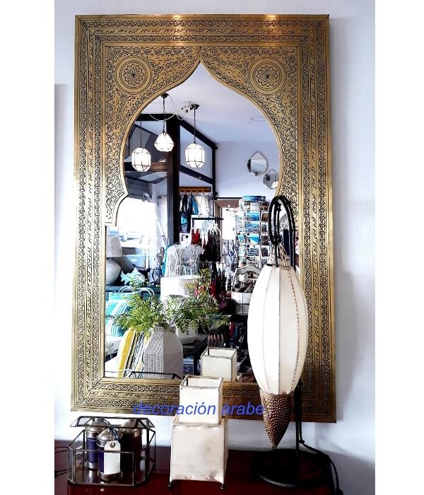 espejo latón marroquí