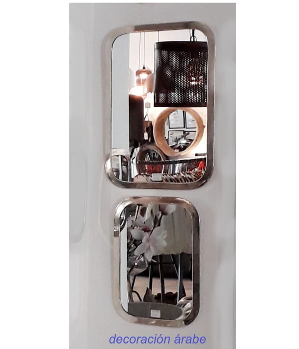 espejos marroquíes alpaca