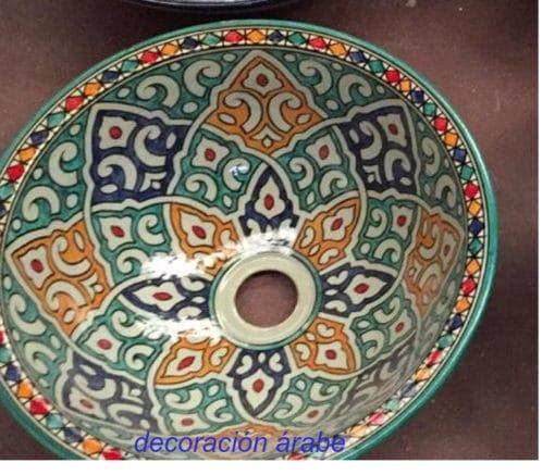 lavabo cerámica marroquí