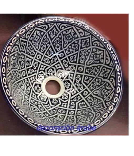 lavabo cerámica artesanal marroquí