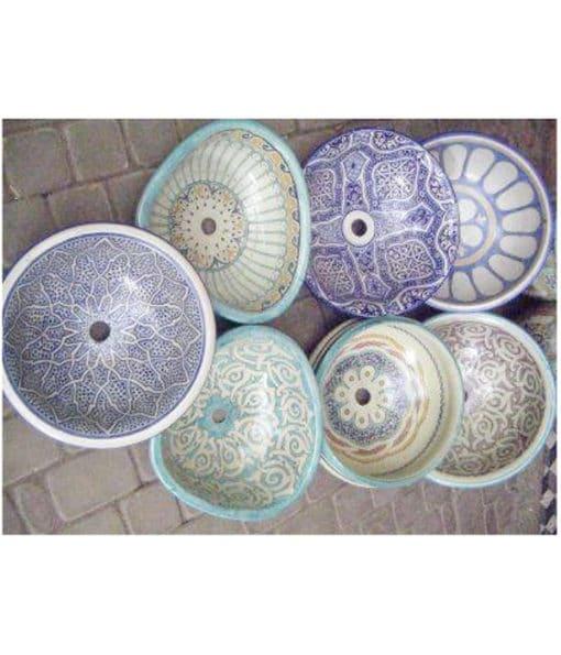 lavabos cerámica árabe