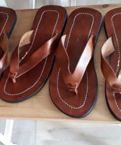 sandalias cuero hombre marroquíes