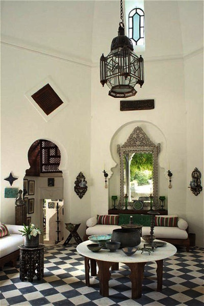 decoracioónsalón árabe