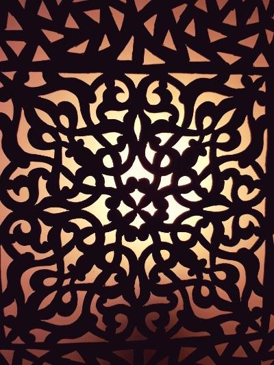 aplique árabe mandala