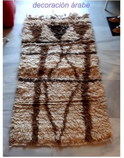 alfombra bereber marruecos beni ouarain