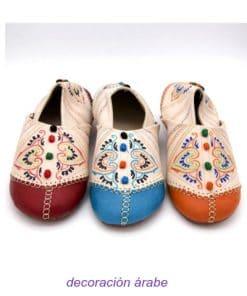 babuchas mujer marroquíes piel