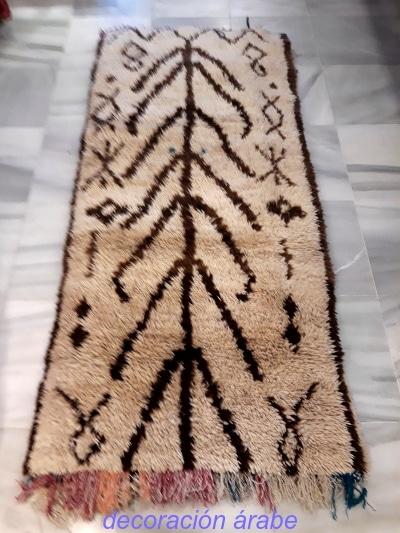 tapiz bereber beni ouarain