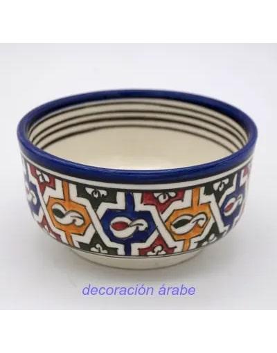 cuenco cerámica marroquí